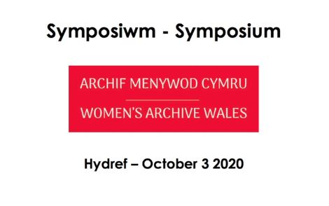 Women's Archive Wales 2020 Symposium