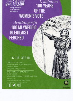 Image: Exhibition: 100 years of the women's vote