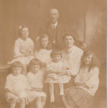 Y teulu pan yn ifanc-The family when young: Image 6
